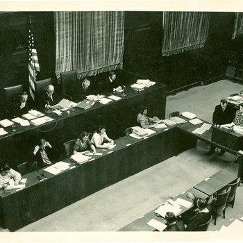 Photo 1916 - American Tribunal in Medical Case