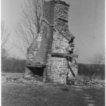 Waite Potter House 120: West End of Chimney and Firebox Restoration