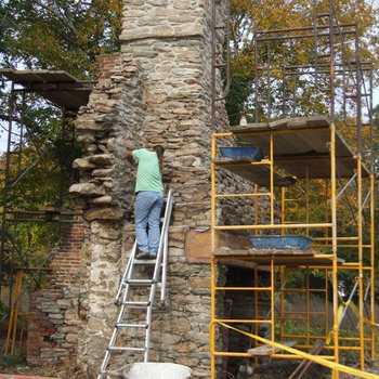 Waite Potter House 310: Chimney and Firebox Restoration