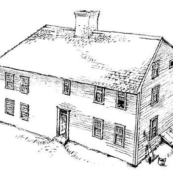 Mott House 060: Drawing of Jacob III, Phase 3, circa 1732