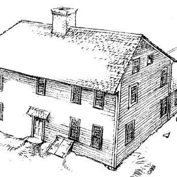 Mott House 080: Drawing of Jacob IV, addition
