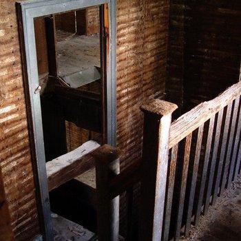 Cory House 080: Stairway and Smoke Door