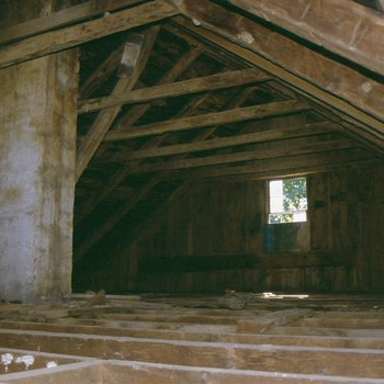 Cory House 270: Rafters in Old House