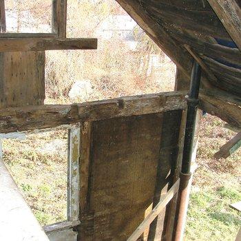 Akin House 100: Rotted North Girt