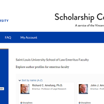 Emeritus Faculty Profile Gallery