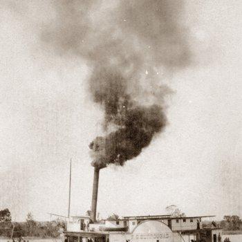 Steamboat - F.G. Burroughs