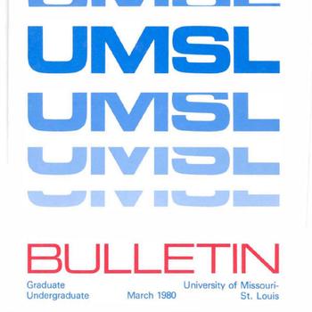 UMSL Bulletins