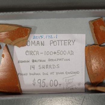 Pottery sherds (14)