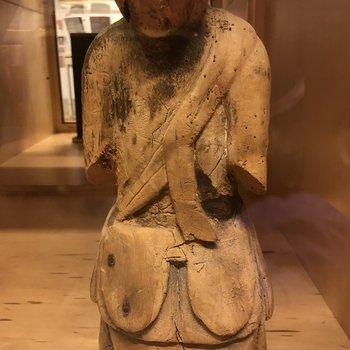 Japanese Wood Figure