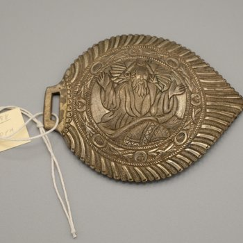 Buckle with Image of God the Father