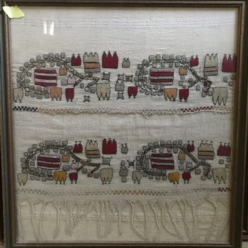 Embroidered Textile 3