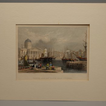 Canning Dock and Custom House, Liverpool
