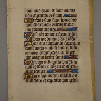 Folio from a Medieval Manuscript 2