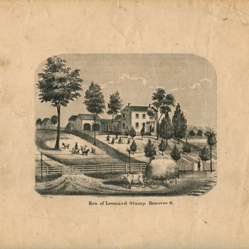 Res. of Leonard Stump, Hanover O.