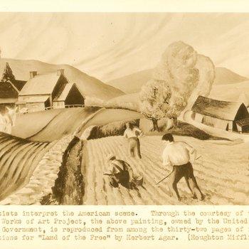 PWA Artists interpret the American Scene, landscape