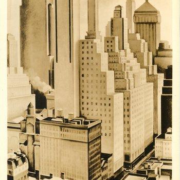 PWA Artists interpret the American scene, Buildings