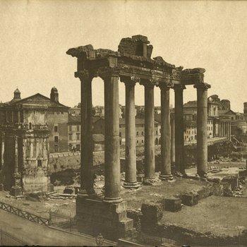 Landscape View of the Roman Forum
