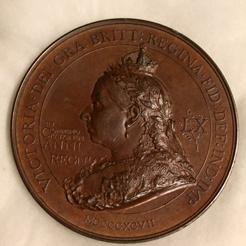 Diamond Jubilee Bronze Medal