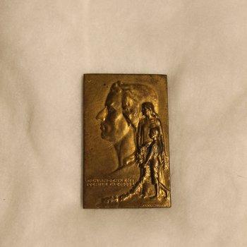 Dea Andenken Schiller's 1909 Medal