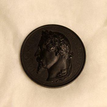 Napoleon III Era Zinc Commemorative Medal
