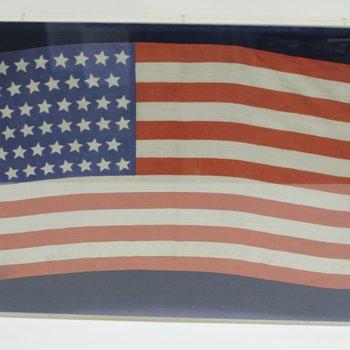 Framed United States Flag