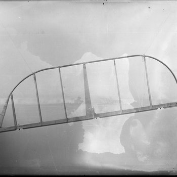 Skeleton of the elevator for a De Havilland DH-4 at the Dayton-Wright Airplane Company