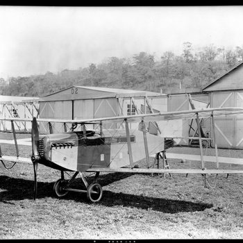 Dayton-Wright KT Cabin Cruiser at the South Field of the Dayton-Wright Airplane Company